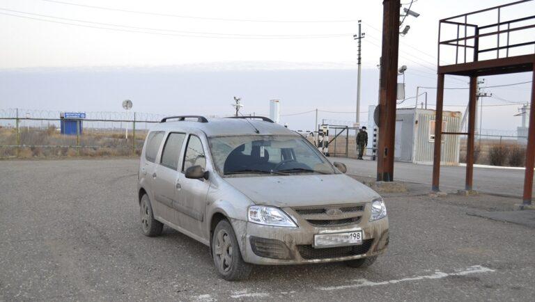 Приключения украденного в Санкт-Петербурге авто закончились на государственной границе в Волгоградской области
