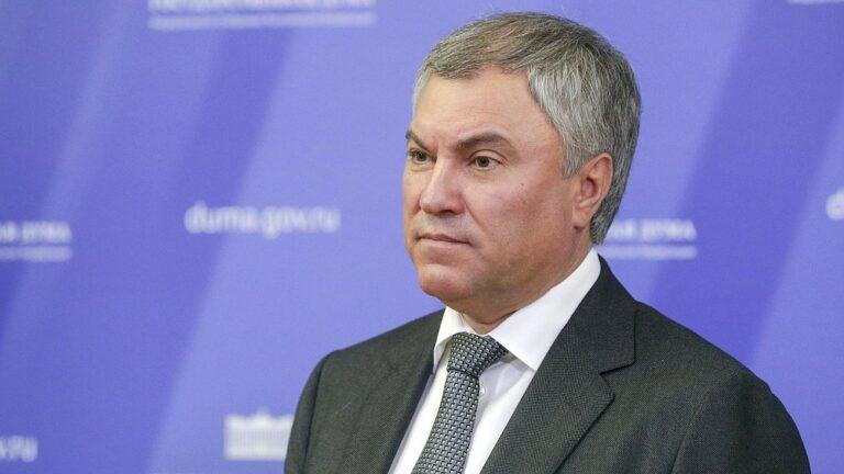 Вячеслав Володин высказался о дворце в Геленджике