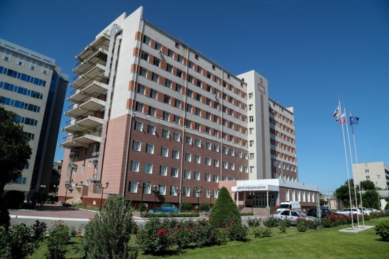В Астрахани к прежней работе возвращается региональный сосудистый центр АМОКБ