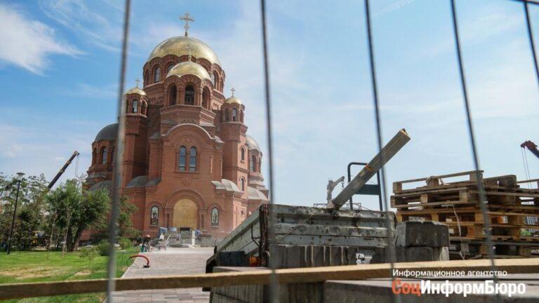 Для освящения храма Александра Невского в Волгоград пригласили патриарха Кирилла