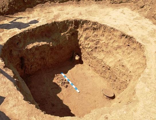 Студенты ВолГУ нашли под Волгоградом захоронения сарматов