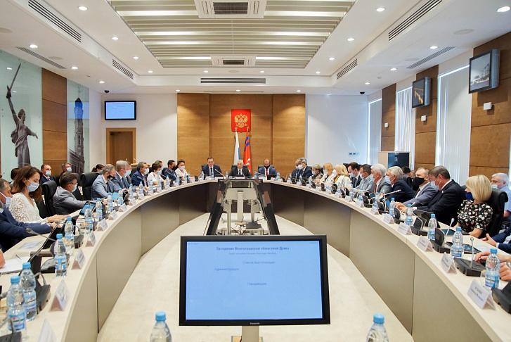Волгоградская облдума поддержала введение новых ограничительных мер в регионе