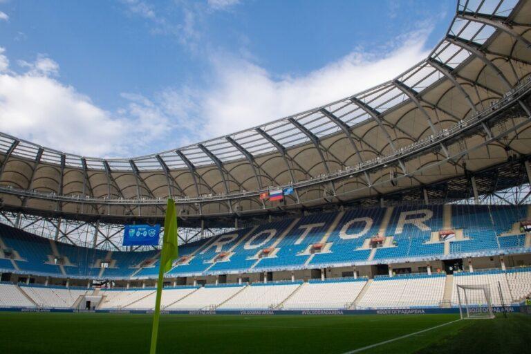 На строительство двух новых футбольных полей на «Волгоград Арене» потратят 39 миллионов рублей