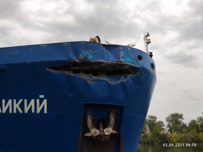По факту столкновения двух теплоходов под Волгоградом возбуждено уголовное дело (ВИДЕО)